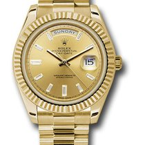 Rolex Day-Date 40 Yellow gold 40mm Champagne United States of America, New York, NY