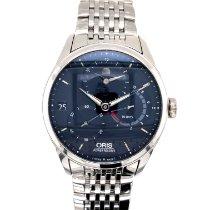 Oris Artelier Calibre 112 Steel 43mm Blue No numerals