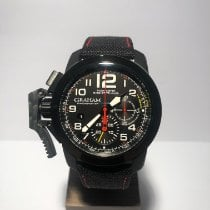 Graham Chronofighter Oversize Carbon Black