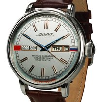Poljot Steel 43mm Automatic 2427.1546511 new