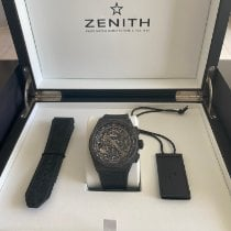 Zenith Carbon Automatic Transparent No numerals 44mm pre-owned Defy El Primero