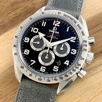 Omega Speedmaster Broad Arrow Steel 42mm Black Arabic numerals