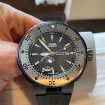 Oris ProDiver Date Tungsten 49mm Black No numerals