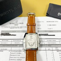 Breitling Bentley Flying B Steel 38.5mm Silver No numerals United States of America, California, Pasadena