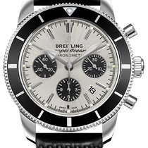 Breitling Superocean Heritage Chronograph Steel 44mm Silver No numerals United States of America, Florida, Hollywood