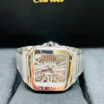 Cartier Santos (submodel) Steel Transparent United States of America, Florida, West Palm Beach