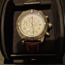 Breitling Ceramic Automatic White Roman numerals 48mm pre-owned Super Avenger