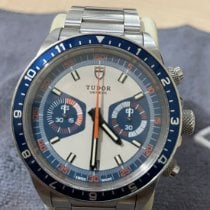 Tudor Heritage Chrono Blue Steel 42mm Blue No numerals United States of America, Florida, Weston