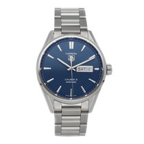 TAG Heuer Carrera Calibre 5 Steel 41mm Blue No numerals United States of America, Pennsylvania, Bala Cynwyd