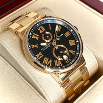 Ulysse Nardin Rose gold 45mm Automatic 1186-122-8M/42 pre-owned United States of America, Wisconsin, La Crosse