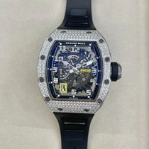 Richard Mille RM 030 White gold 50mm Transparent Arabic numerals