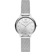 Armani Steel Quartz AR11128 new