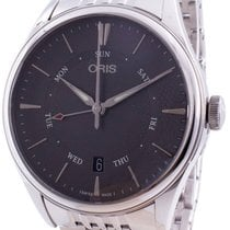 Oris Artelier Pointer Day Date new Automatic Watch with original box and original papers 01-755-7742-4053-07-8-21-79