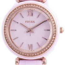 Fossil Ceramic Quartz Pink 30mm new