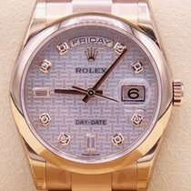 Rolex Red gold Automatic Mother of pearl 36mm new Day-Date 36
