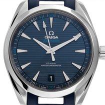 Omega Seamaster Aqua Terra Aço 41mm Azul