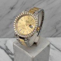 Rolex Datejust Gold/Steel 41mm Gold No numerals