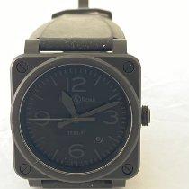 Bell & Ross BR 03-92 Ceramic pre-owned 42mm Black Date Rubber