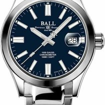 Ball nuevo Automático Cronómetro Serie limitada Corona atornillada 40mm Acero Cristal de zafiro