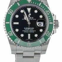 Rolex Grün gebraucht Submariner Date
