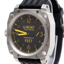 U-Boat Thousands of Feet 00443742-001 Very good Steel 50mm Manual winding