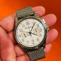 Breitling Transocean Chronograph 1915 Steel 43mm Silver Arabic numerals