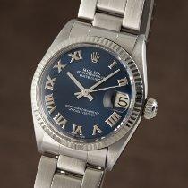 Rolex Lady-Datejust Guld/Stål 31mm Blå