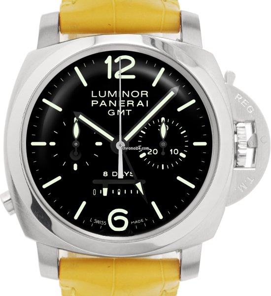 Panerai Luminor 1950 8 Days Chrono Monopulsante GMT PAM 00275 usados