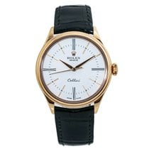Rolex Cellini Time 39mm White Roman numerals