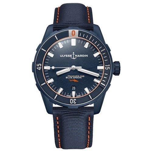 Ulysse Nardin 8163-175LE/93-BLUESHARK 2021 new