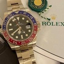 Rolex GMT-Master II Weißgold 40mm Schwarz Keine Ziffern