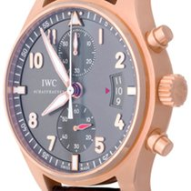 IWC Pilot Spitfire Chronograph Rose gold 43mm Grey Arabic numerals United States of America, Texas, Dallas