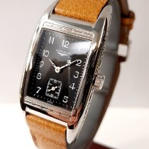 Longines BelleArti Steel 24mm Black Arabic numerals