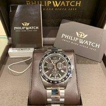 Philip Watch Caribe Steel 42mm Black No numerals