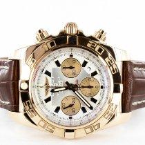 Breitling Chronomat 44 Rose gold 44mm Black