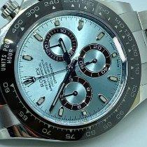 Rolex Daytona Platin 40mm Blau Keine Ziffern Schweiz, lugano