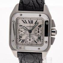 Cartier Santos 100 Steel 41mm White Roman numerals