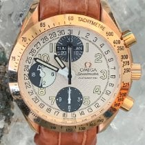 Omega Speedmaster Rose gold 39mm Champagne Arabic numerals
