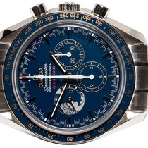 Omega Steel Manual winding Blue No numerals 42,00mm new Speedmaster Professional Moonwatch