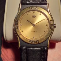 L.Leroy pre-owned Quartz 31mm Gold Mineral Glass