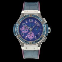 Hublot Big Bang Pop Art Steel 41mm Purple
