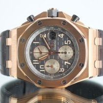 Audemars Piguet Aur roz Atomat Gri Arabic 42mm folosit Royal Oak Offshore Chronograph