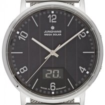 Junghans Milano Steel 39.2mm Black