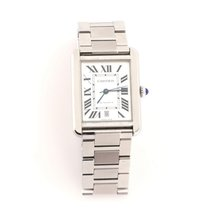 Cartier Tank Solo Steel 31mm White United States of America, New York, New York