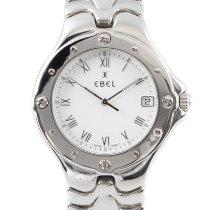Ebel Sportwave Steel 36mm White