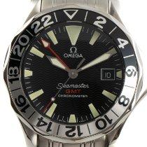 Omega Seamaster Diver 300 M Stål 41mm Sort