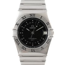 Omega Constellation Steel 32.5mm Black