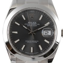Rolex Datejust Acero 41mm Gris