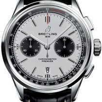 Breitling Steel 42mm Automatic AB0118221G1P2 new