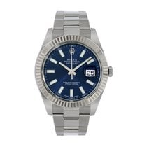 Rolex Datejust II Steel 41mm Blue No numerals United States of America, New York, New York